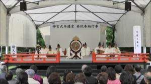 第六十二回式年遷宮奉祝雅楽演奏 管絃全体写真